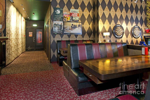 Barbeque Photograph - American Style Diner Interior by Jaak Nilson