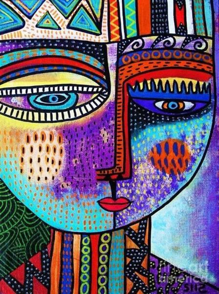 Amethyst Gem Goddess Art Print