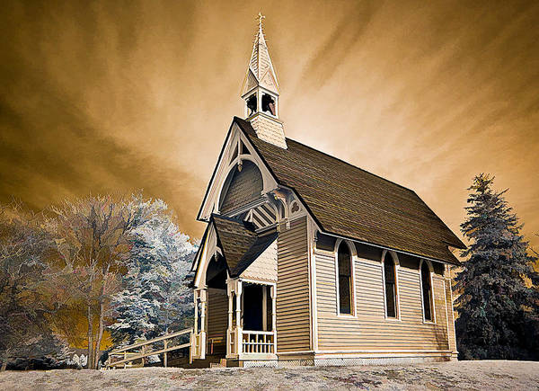 Photograph - Amityville Chapel by Steve Zimic