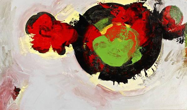 Painting - Amorphous Movement Of Wa-ja-rata Mural Study 111347-61649 by Cliff Spohn