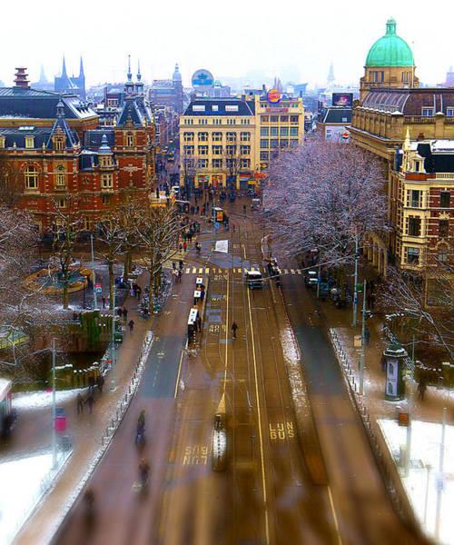 Buldog Photograph - Amsterdam by Gennadiy Golovskoy