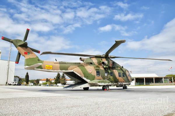 Agustawestland Photograph - An Agusta Westland Eh-101 by Giovanni Colla