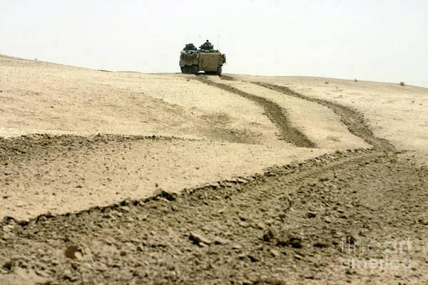 Photograph - An Amphibious Assault Vehicle Rolls by Stocktrek Images