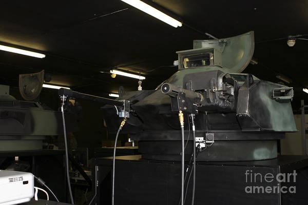 Aav Photograph - An Amphibious Assault Vehicle Turret by Stocktrek Images