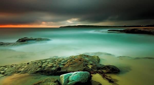 Photograph - An Aqua Dawn by Mark Lucey