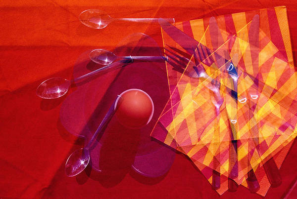 Analogous Color Photograph - An Egg For Breakfast by Angela Bruno