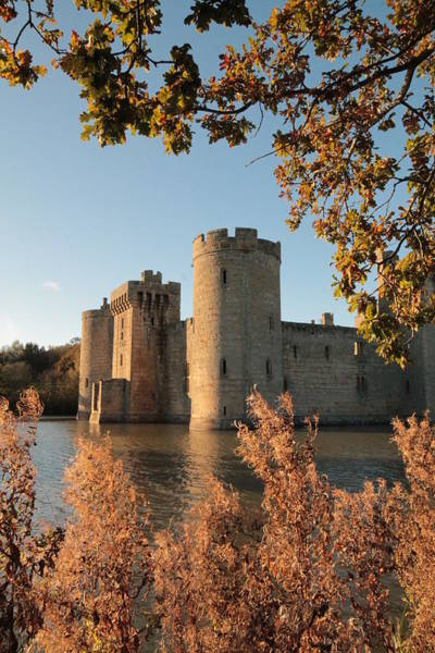Bodiam Photograph - An Englishman's Castle by Henry  Hemming