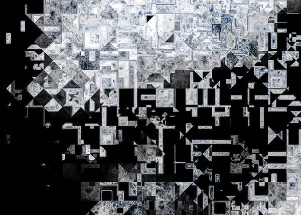 Merge Digital Art - An Evening At The Gallery by Hakon Soreide