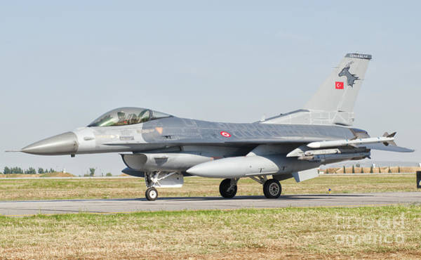 Photograph - An F-16c Block 50 Of The Turkish Air by Giovanni Colla
