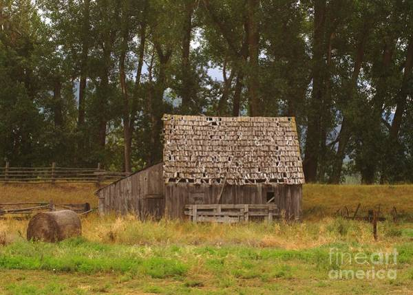 Wall Art - Photograph - An Idaho Barn by Jeff Swan
