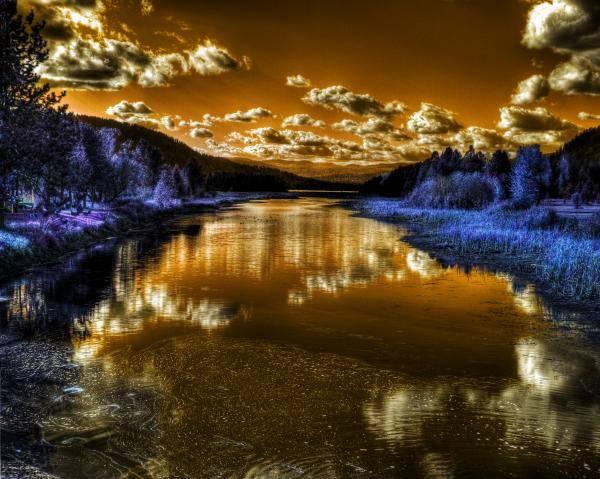 Photograph - An Idaho Fantasy 2 by Lee Santa