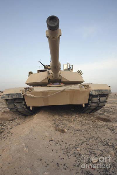 Photograph - An M-1a1 Main Battle Tank by Stocktrek Images
