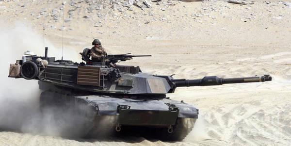 Photograph - An M1-a1 Abrams Main Battle Tank by Stocktrek Images