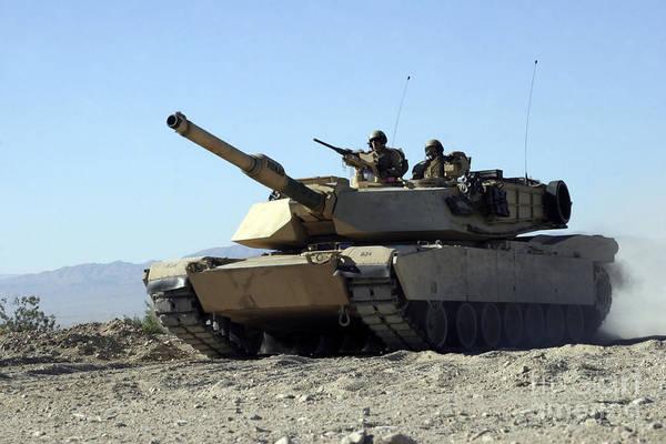 Photograph - An M1a1 Main Battle Tank by Stocktrek Images