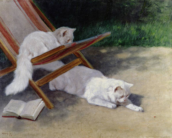 Guest Painting - An Uninvited Guest by Arthur Heyer