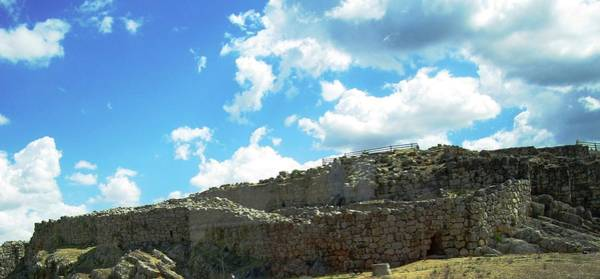 Photograph - Ancient Archeological Remains V In Mycenae Greece by John Shiron
