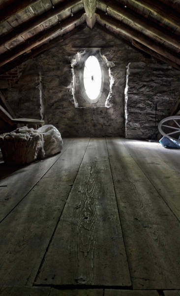 Dwelling Photograph - Ancient Attic by Peter Chilelli