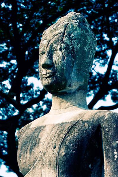 Photograph - Ancient Buddha Thailand  by U Schade