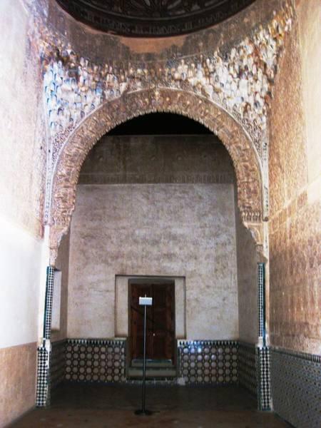 Photograph - Ancient Interior Design Tilework II Granada Spain by John Shiron
