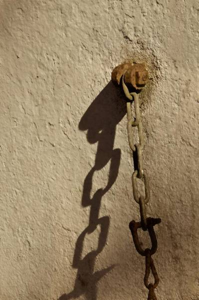 Chain Link Photograph - And They Danced by Odd Jeppesen