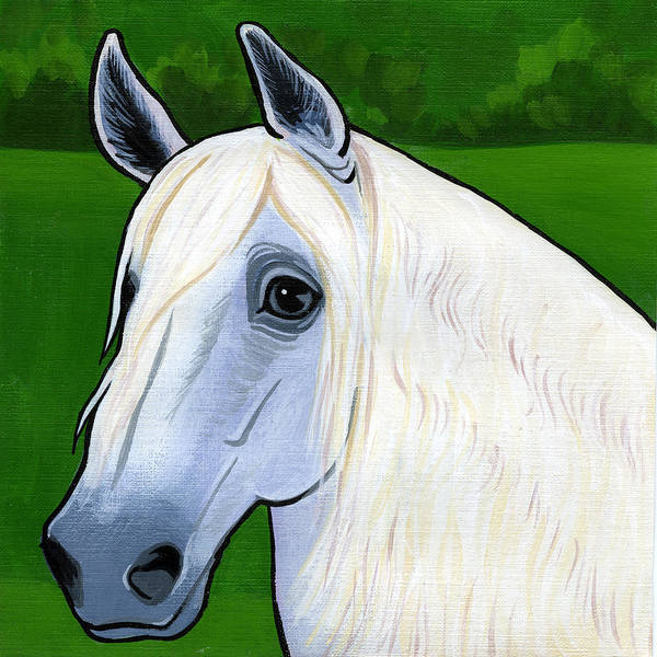 Andalusian Stallion Wall Art - Painting - Andalusian Appeal by Leanne Wilkes