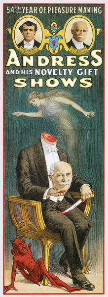 Novelties Painting - Andress And His Novelty Gift Shows by Unknown