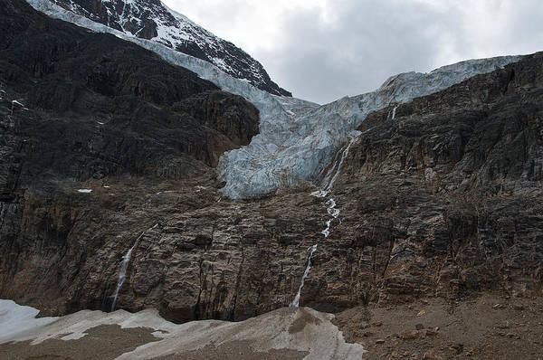 Photograph - Angel Glacier Jasper by David Kleinsasser