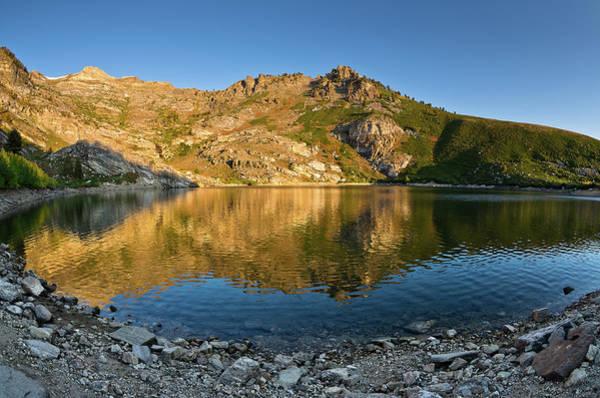 East Humboldt Range Photograph - Angel Lake by Greg Nyquist