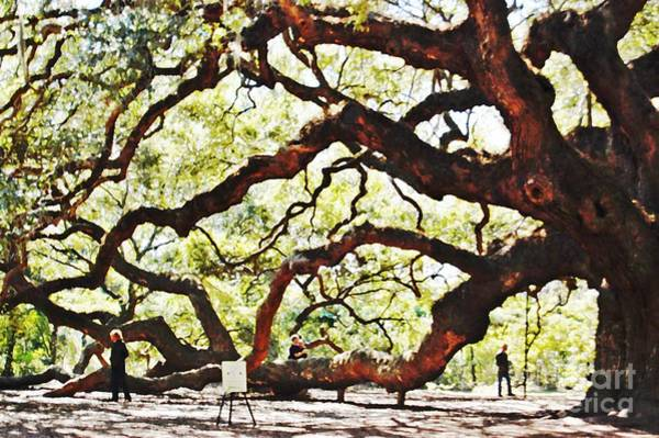 Photograph - Angel Oak Tree 2 by Donna Bentley
