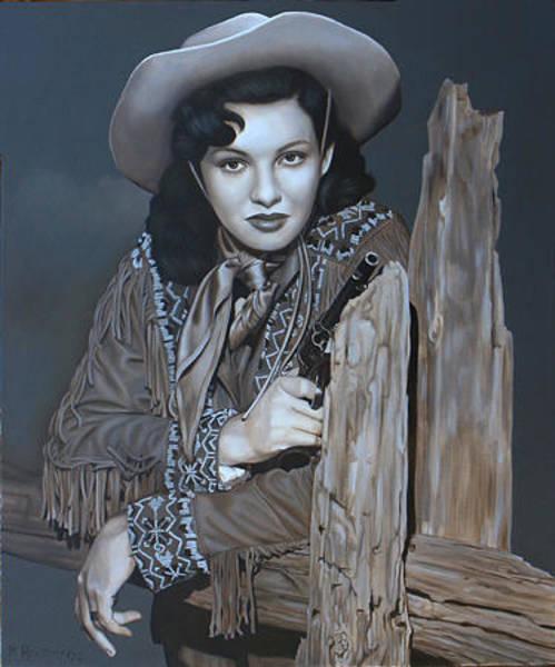 Wall Art - Painting - Angel Of The Prairie By K Henderson by K Henderson