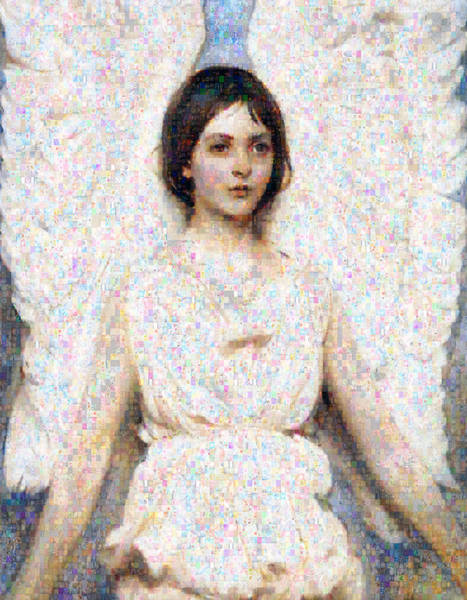 Digital Art - Angels In Our Midst by Isabella Howard