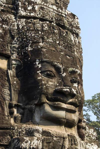 Wall Art - Photograph - Angkor Thom Fae by Gloria & Richard Maschmeyer