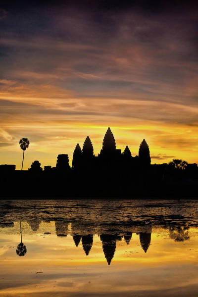 Photograph - Angkor Wat At Sunrise II by Stefan Nielsen