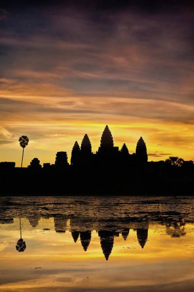 Photograph - Angkor Wat At Sunrise II by Stefan Nielsen