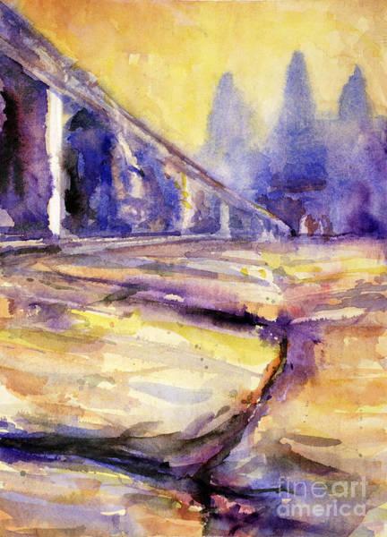 World Heritage Site Painting - Angkor Wat Sunrise 3 by Ryan Fox