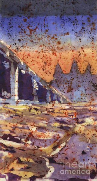 World Heritage Site Painting - Angkor Wat Sunrise by Ryan Fox