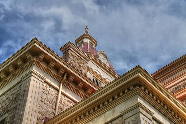 Photograph - Angles Of A 19th Century Building by Sarah Broadmeadow-Thomas