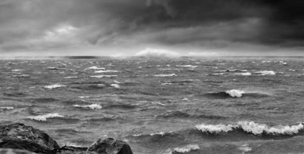 Whitecaps Photograph - Angry Lake 1 by Peter Chilelli