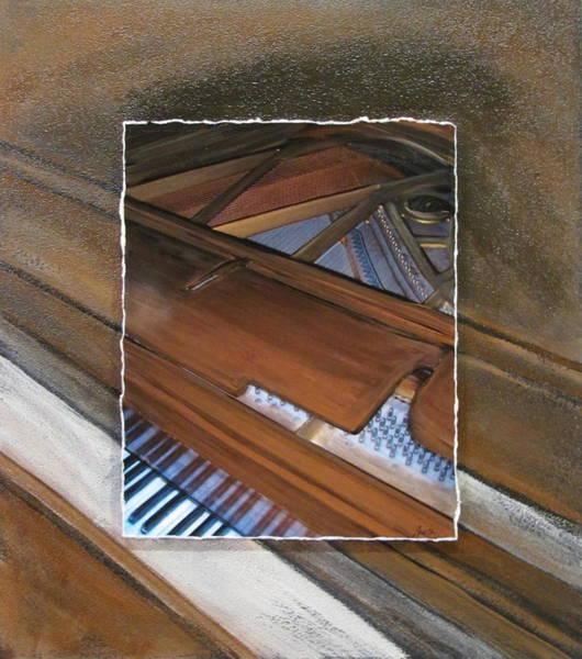 Mixed Media - Anita Piano 2 by Anita Burgermeister