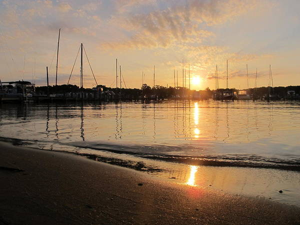 Wall Art - Photograph - Annapolis Sunrise by Valia Bradshaw