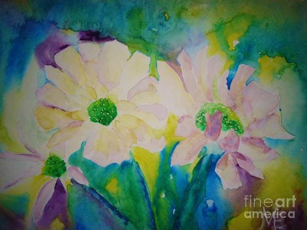 Painting - Anne's Flowers by Melinda Etzold