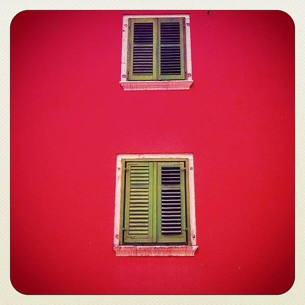 Wall Art - Photograph - Another #croatian #colorful #window In by Marianne Hope
