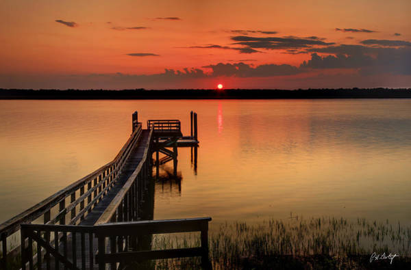 Lowcountry Digital Art - Another Great Sc Sunset by Phill Doherty