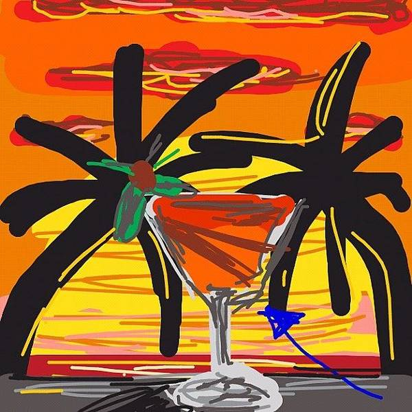Martini Wall Art - Photograph - Another Quick Draw #drawing by Kidface Anbessa-Ebanks