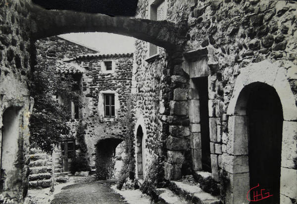 Photograph - Another Residence In Childhood Alba France Ardeche by Colette V Hera  Guggenheim