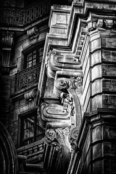 Photograph - Ansonia Building Detail 1 by Val Black Russian Tourchin