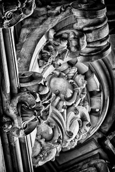 Photograph - Ansonia Building Detail 26 by Val Black Russian Tourchin