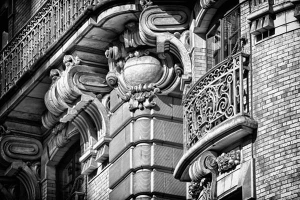 Photograph - Ansonia Building Detail 37 by Val Black Russian Tourchin