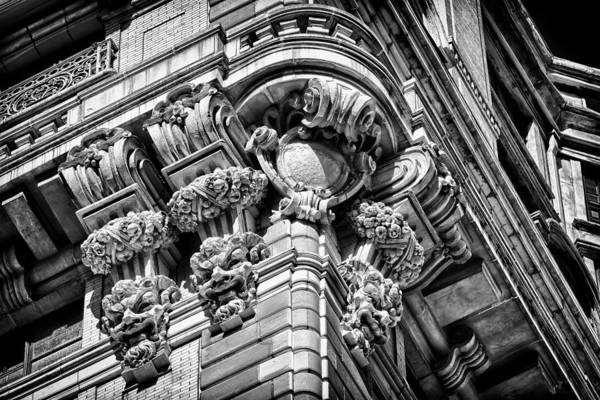 Photograph - Ansonia Building Detail 46 by Val Black Russian Tourchin