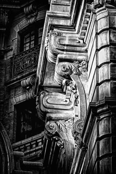 Photograph - Ansonia Building Detail 49 by Val Black Russian Tourchin